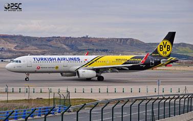 TC-JSJ A321-231 5633 THY Turkish Airlines - Türk Hava Yollari