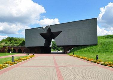 """Главный вход в мемориальный комплекс """"Брестская крепость"""""""