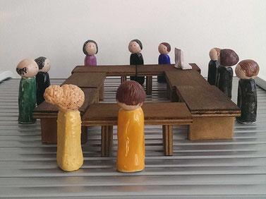 Begleitung in Gerichtsverfahren