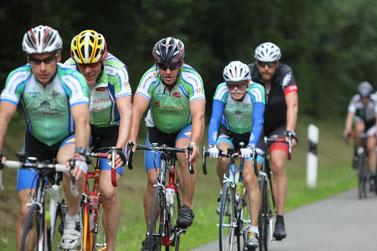 Die Radsportfreunde aus Zwenkau sind auch dieses mal wieder mit am Start