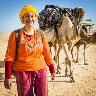 voyage méditation désert Maroc