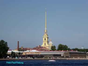 Bild: Peter-und-Paul-Festung in St. Petersburg