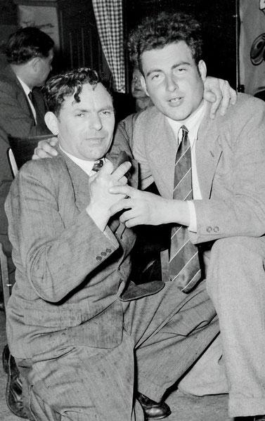 Kari Stocker (links) und Chäpp Schmuckli