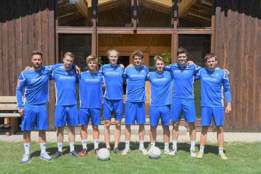 v.l: Marco Kühner, Patrick Schneider, Adrian De Lacasse, Tim Störkle, Bastian Dangel, Moritz Höckele, Alexander Thau, Markus Schweigert