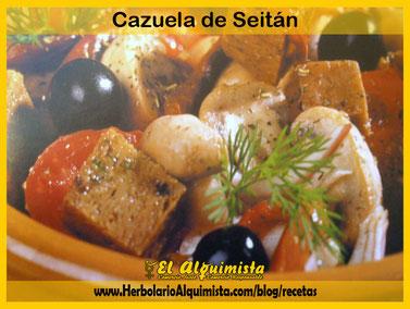 Cazuelita de Seitán - Herbolario Alquimista Arrecife Lanzarote