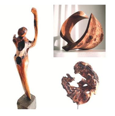Astrid Pacitto lebt in Schaffhausen und zeigt einen Auszug ihrer Werke zum Thema Keramik Art.
