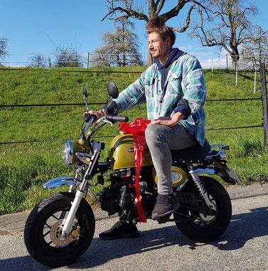 Minibike Skyteam Skybongo Honda Gorilla Honda Monkey Honda Dax Skyteam Moto