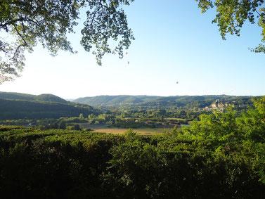 Vue imprenable de la Vallée de la Dordogne depuis les Jardins de Marqueyssac, 40mn de La Maison de Léopold