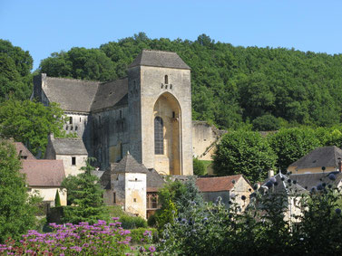 The Abbey of St Amand de Coly, just 10 minutes from the Maison de Léopold