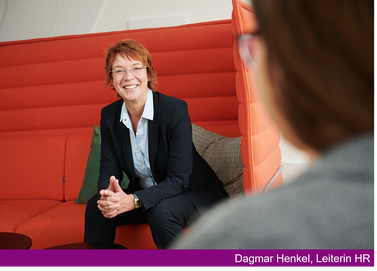 Dagmar Henkel, Leiterin HR