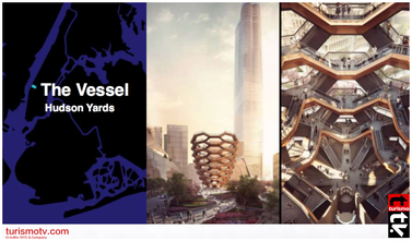 The Vessel en Hudson Yards