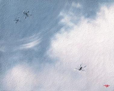「空も飛べるはず」 油彩・キャンバス F3 94,500円