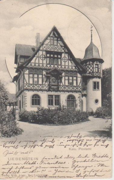 Kaiserliche Post 1901 - Archiv W.Malek