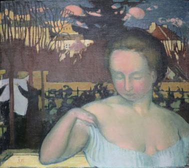 《マルタの肖像》1893年