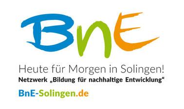 """Logo Netzwerk für """"Bildung für nachhaltige Entwicklung"""" Solingen"""