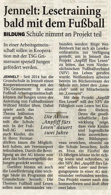 Ostfriesen-Zeitung 27.05.2015