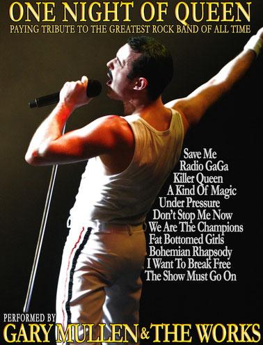 Garry Mullen & The Works: One Night of Queen | 15.02.2014