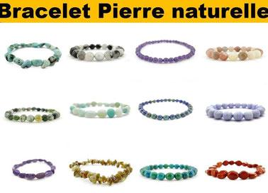 Bracelet pierre de bien-être - Boutique de minéraux - Casa bien-être.fr