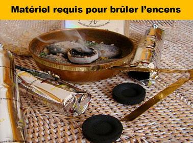 Matériel requis pour brûler l'encens  - Boutique d'encens naturel - Casa bien-être.fr