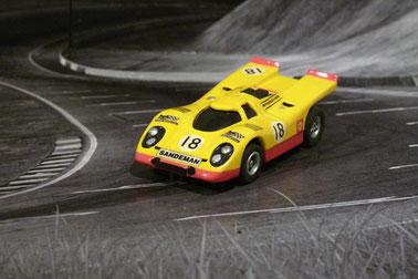 Faller AMS AURORA AFX Porsche 917k Team Sandemann
