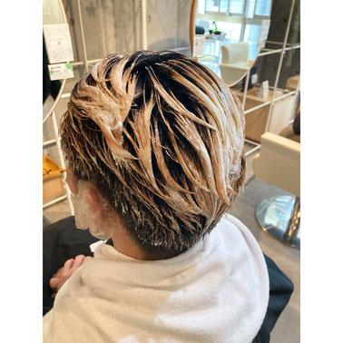 横浜 元町 石川町  髪質改善 ヘッドスパ 美容室 men's メンズ カット カラー ダブルカラー ブリーチ 2ブロック