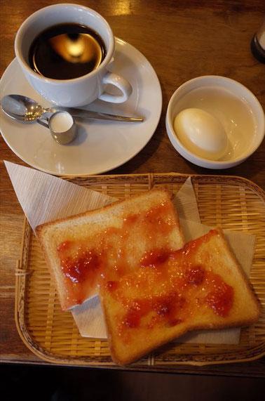 京都レトロ喫茶店「チロル」モーニング
