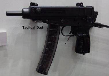 Halbautom. Scorpion Pistole von CSA.