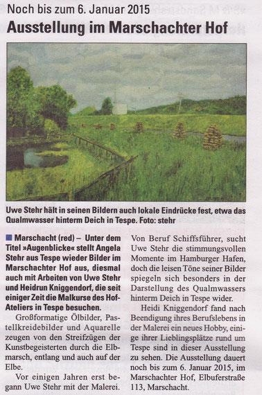De Elvmarscher, 15. November 2014