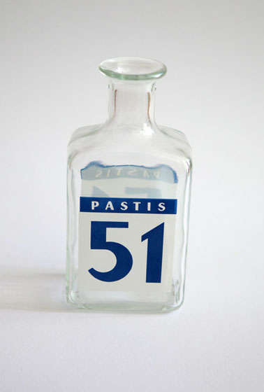 Pastis 51 Glaskaraffe