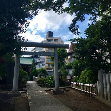 粟島神社 鳥居