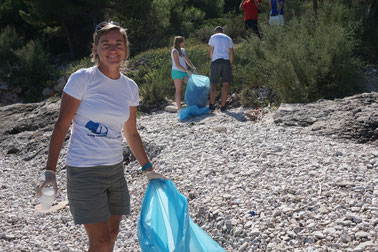 Living Ocean: Strandsäubern in Kroatien