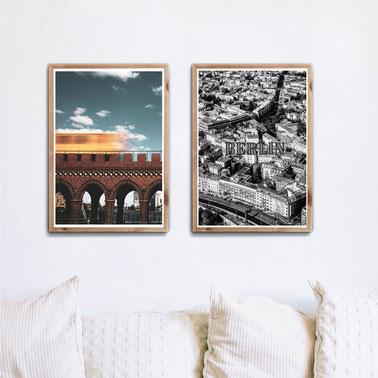 4one pictures - poster - city - stadt bilder - berlin - köln - hamburg - typographie - großstadtliebe - fotografie - streetstyle - urban