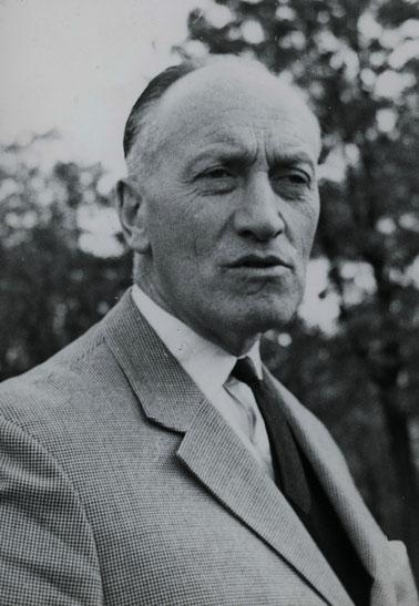 Intendant Alfred Erich Sistig