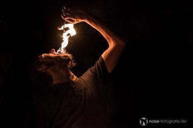 Feuerschlucker & Gaukler beim Gothardusfest 2016