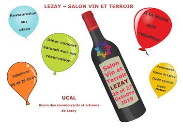 salon vin et terroir à lezay les 26 et 27 octobre 2019