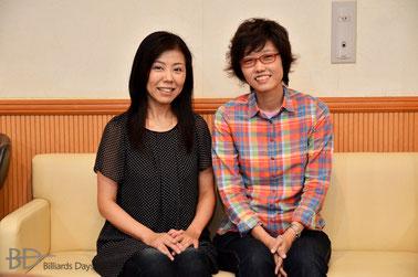 林紀代(左)&野内麻聖美