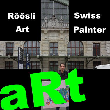 Art Exhibitions Artist Painter Painting Picture Daniel Röösli