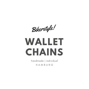 Bikerstyle wallet chains handmade in Hamburg