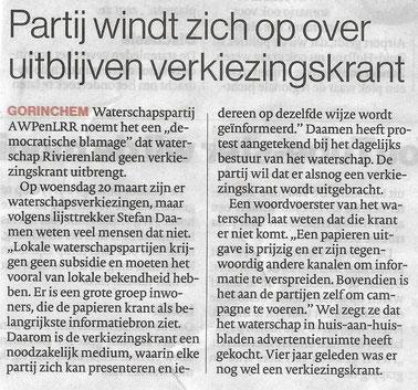 Algemeen Dagblad 21 februari 2019