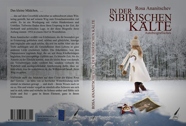 """Cover zum Buch von Rosa Ananitschev """"In der sibirischen Kälte"""""""