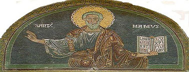 Mosaico rappresentante San Matteo