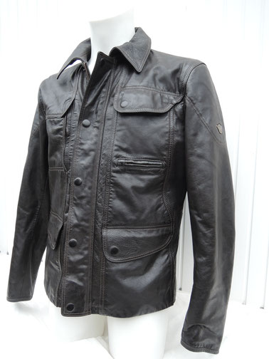 Original Matchless Kensington Jacke leder schwarz sale