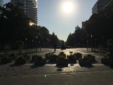 4.大通り公園へでます。