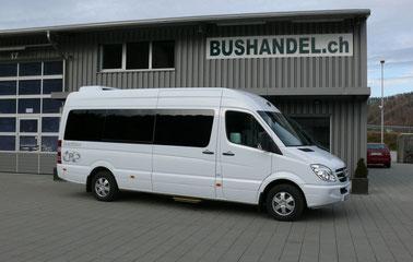 Coachlimo / Hochzeitsbus Mercedes Sprinter 319 mit 9 Sitzplätzen