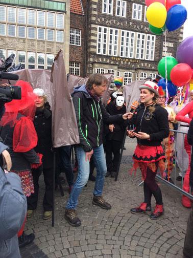 Interview Buten un Binnen, 35. Bremer Samba Karneval