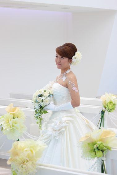 白ドレス☆