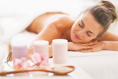 gommage et massage relaxant sur le puy en velay