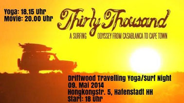 Surf Yoga Night Driftwood Travelling