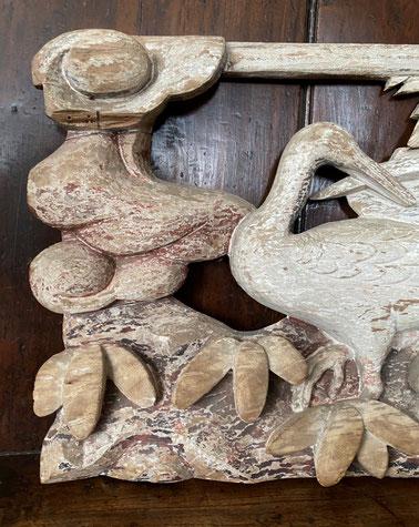 Chip carved Black Forest Wall Hanging Dog