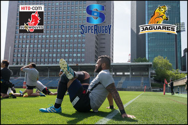 Sunwolves -v- Jaguares (Captain's Run)